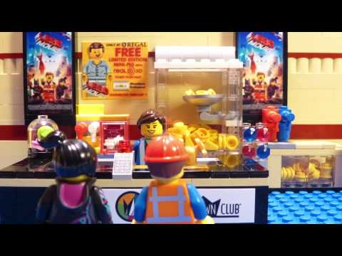 Emmet Goes to The LEGO Movie Premiere! Episode 2 :: The LEGO Movie Comes to Regal Movies