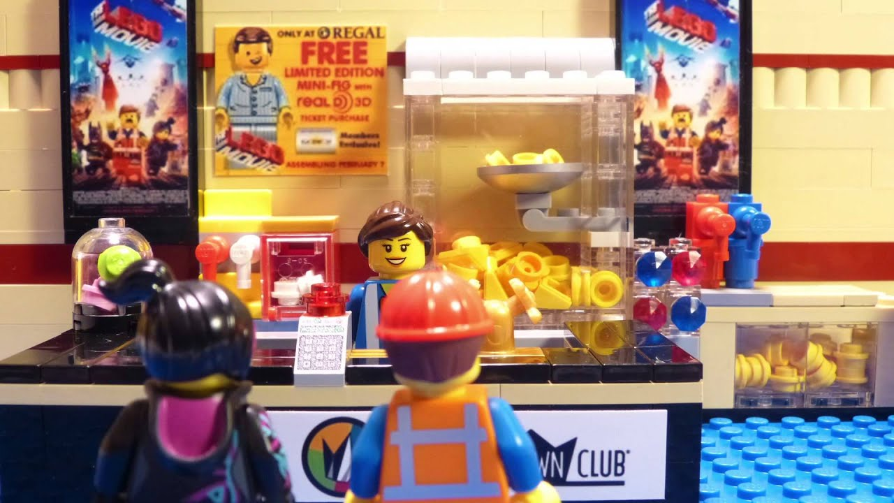 emmet goes to the lego movie premiere! episode 2 :: the lego movie
