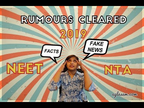 NTA clears all rumors about NEET & JEE 2018 in December | AglaSem