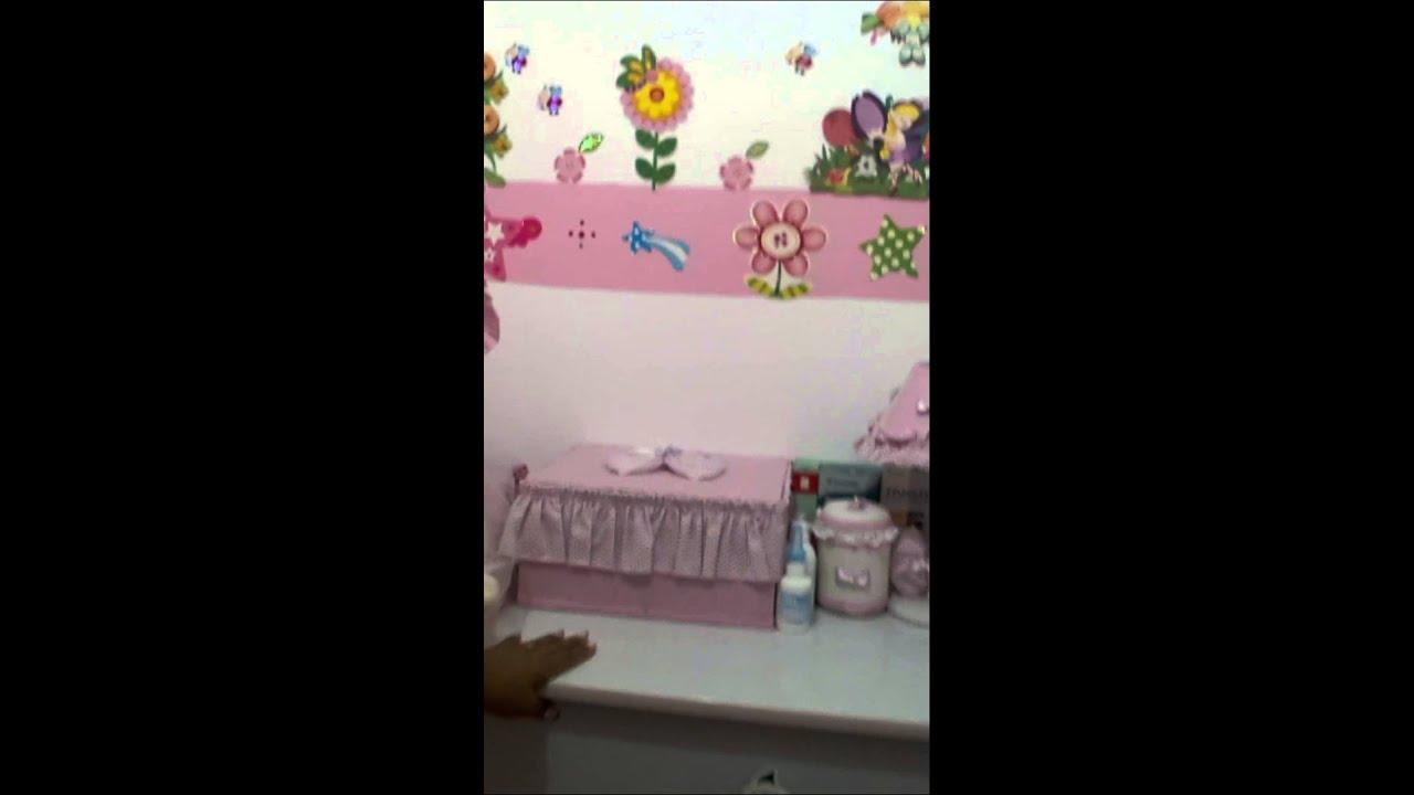 Como decorá o quarto de bebê sem gastar muito  YouTube