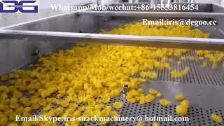 Kelloggs crispy corn flakes making extruder machinery/breakfast cereal snack food equipment