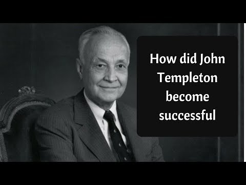 John Templeton  and Firms