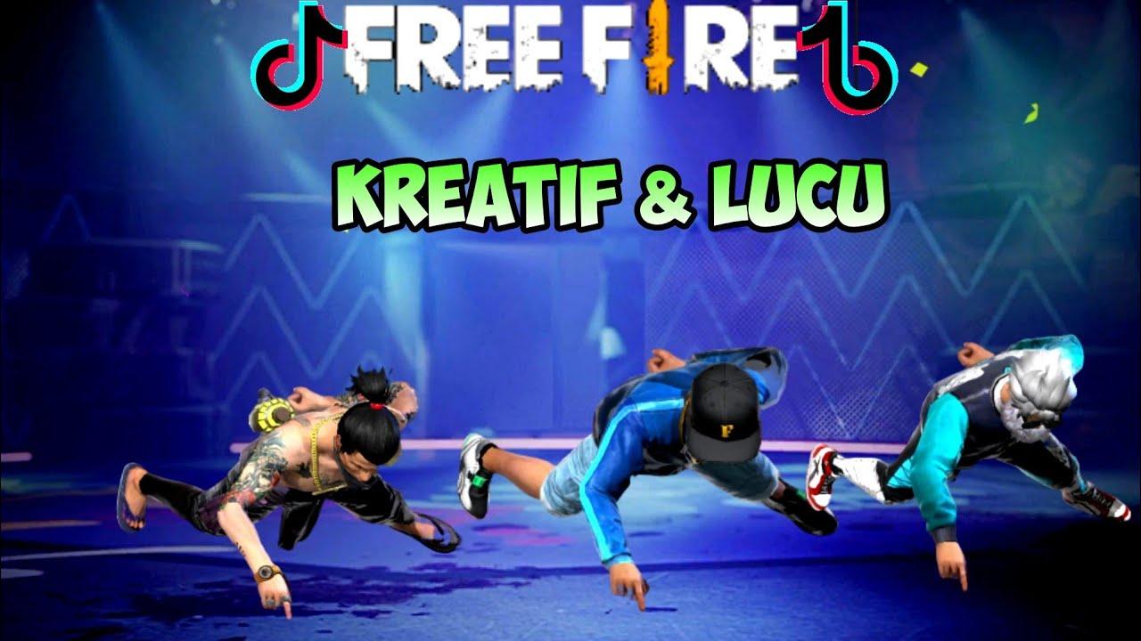 Tik Tok Free Fire (tik tok ff) Kreatif & Lucu,Terbaru,Viral,Auto Booyah
