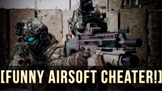 One of MattTheMusketeer's most viewed videos: AIRSOFT CHEATER SHOOTS ME IN THE FACE!