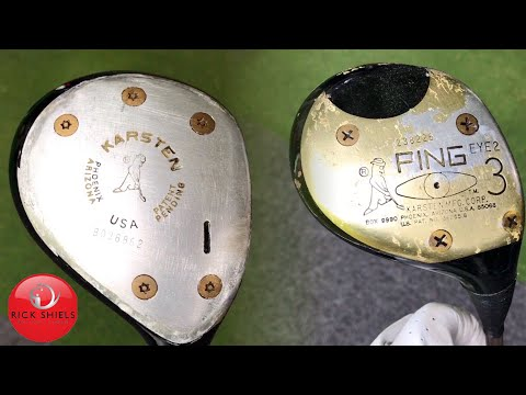 SMASHING VINTAGE PING GOLF DRIVER & 3 WOOD!