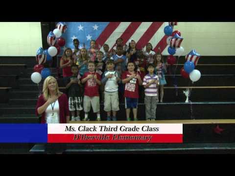 D'Iberville Elementary School - Mrs. Clack's Third Grade Class