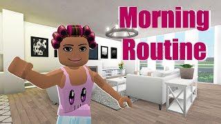MORNING ROUTINE IN BLOXBURG | Roblox