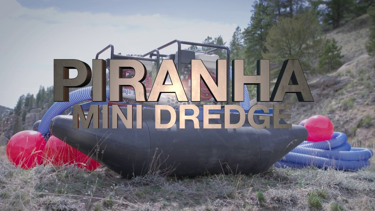 Mini Dredges | User Friendly | Piranha Pumps and Dredges