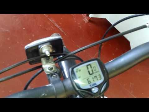 Беспроводной велокомпьютер недостатки.Видео обзор.