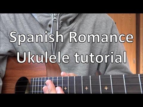 How to play Spanish Romance on ukulele