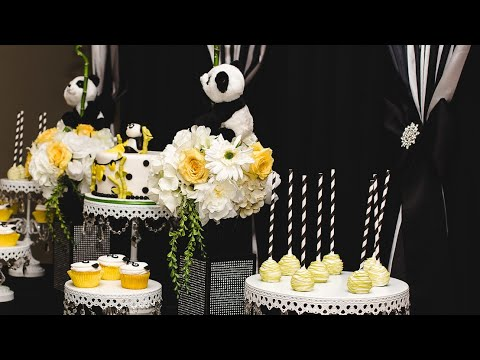 Gender Neutral Baby Shower Ideas Panda Theme Youtube