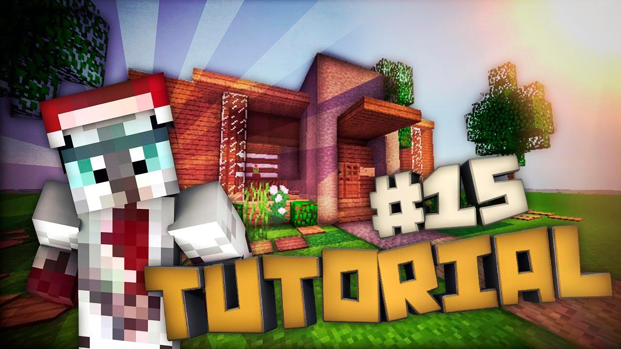 Tutorial de como hacer una casa moderna en minecraft 15 for Como hacer una casa moderna