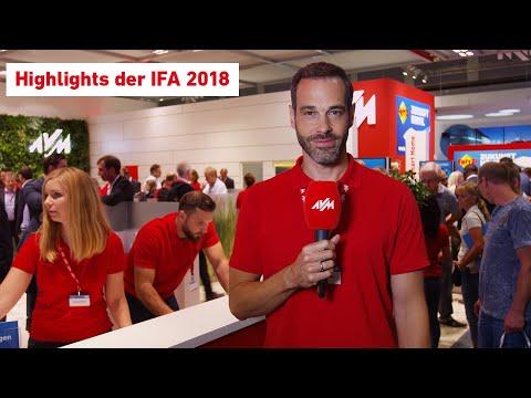 IFA-Highlights vom AVM-Stand