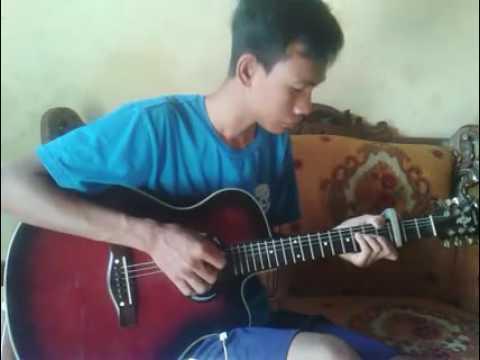 BIRUNYA CINTA - DICKY (FINGERSTYLE GUITAR COVER)