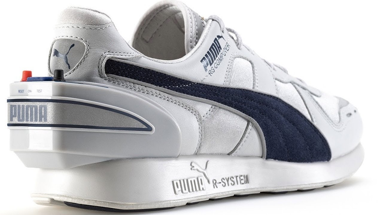 c7398d173400 Puma Re-Releases Its 32-Year-Old Smart Shoe - YouTube