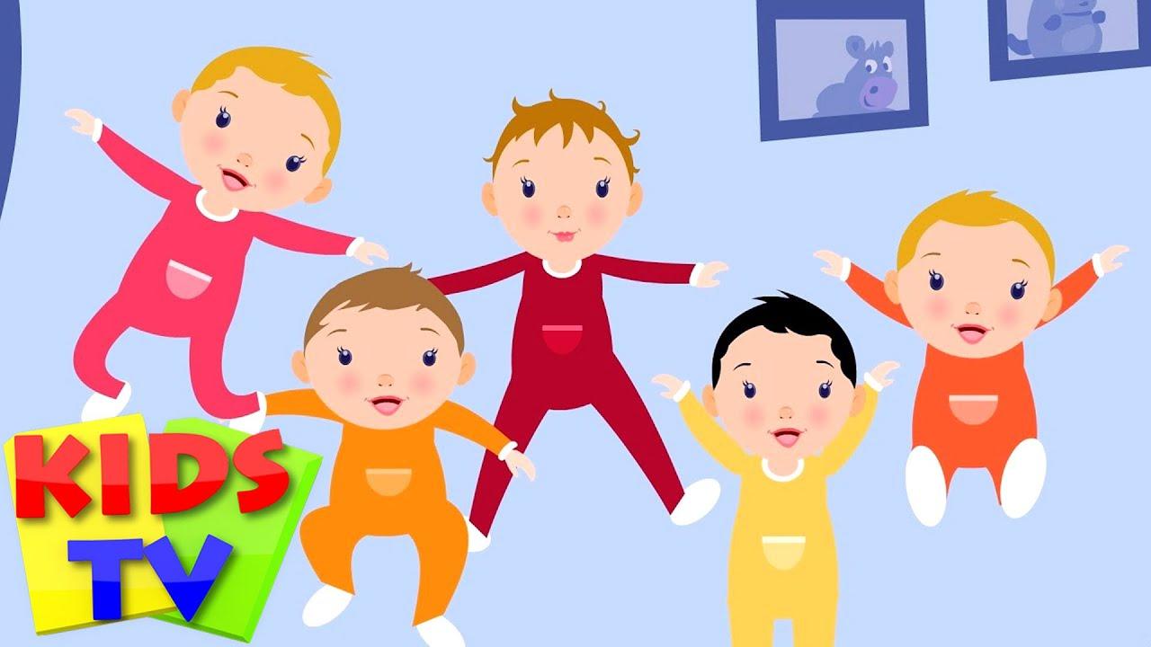 Five Little Babies | baby nursery rhymes | baby songs | kids tv nursery rhymes |