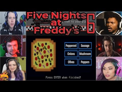 Gamers Making Pizza | Fazbear's Pizzeria Simulator (FNAF 6)