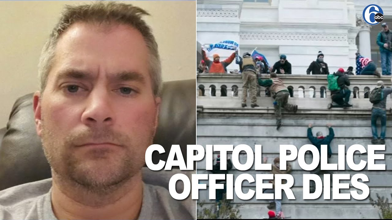 U.S. Capitol police officer dies of injuries from riot by Trump supporters