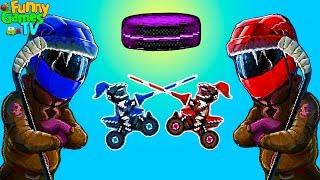 Серия мультиков про машинки Играем в футбол и Хоккей на тачках Drive Ahead! Sports