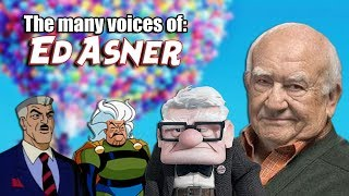 Many Voices of Ed Asner (UP / Granny Goodness / Spider-Man / Freakazoid & MORE!)