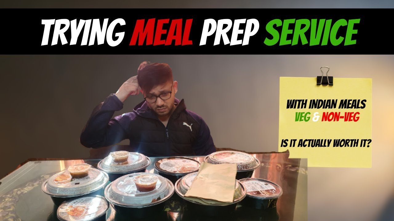 I tried meal prep services in my city for 3 days || My review on it || Is it worth it or not?