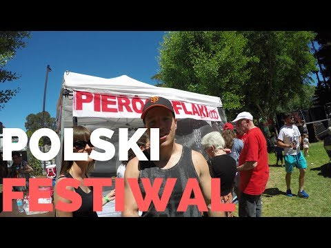 USA: Test jedzenia na Polskim Festiwalu 2017 w Belmont, Kalifornia