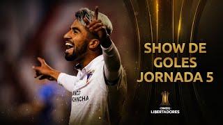 SHOW DE GOLES | Jornada 5 | Fase de Grupos | CONMEBOL Libertadores 2020