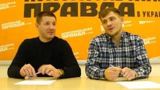 Боксер Денис Беринчик, тренер Сергей Ватаманюк (часть 2)