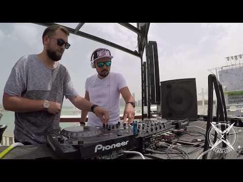 Greem B2B Catalin @ X Beach Club Doha Qatar 2018