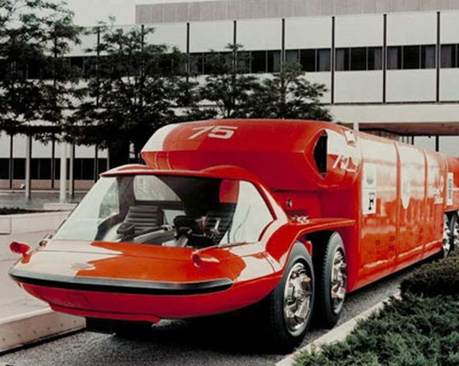 1181 general motors bison 1964 prototype car youtube for General motors company profile