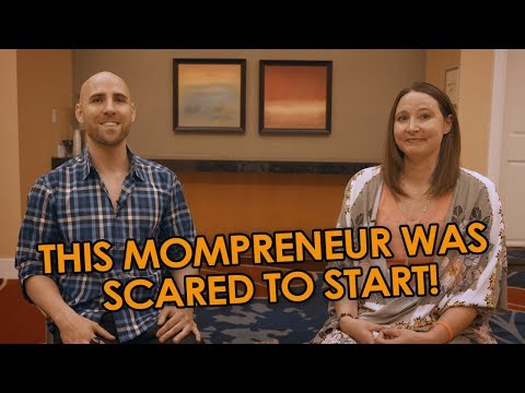 "This ""Mompreneur"" Was SCARED To Start Her Amazon FBA Business 😱 Now She Makes Millions… thumbnail"