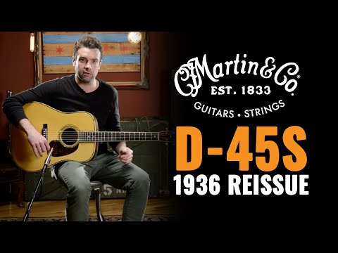 Martin D-45S Authentic 1936 Reissue | Acoustic Guitar Demo