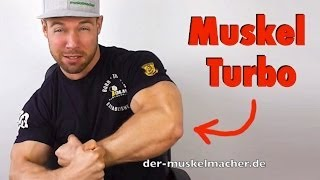 Muskelaufbau beschleunigen mit diesen Tipps
