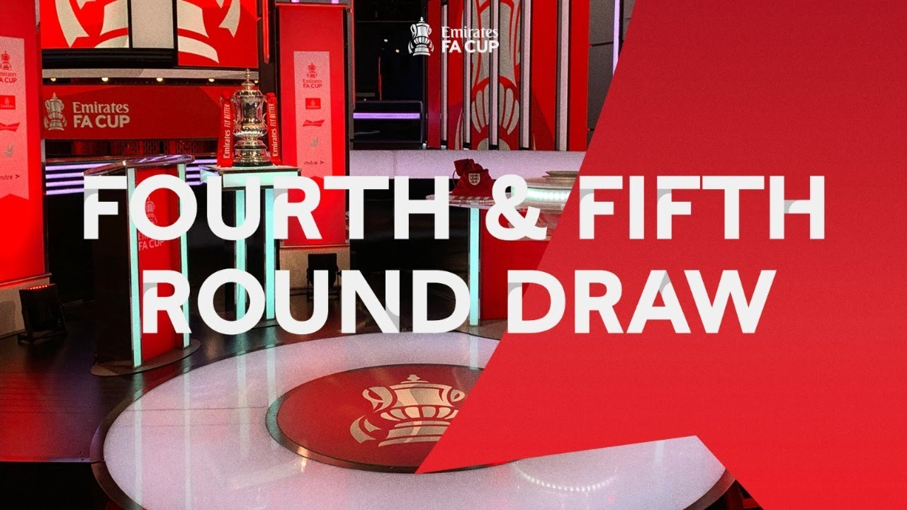 LIVE | Fourth AND Fifth Round Draw | Emirates FA Cup 20-21