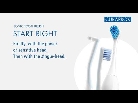 SONIC TOOTHBRUSH - START RIGHT (Instructionvideo EN)
