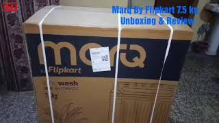 Marq 7.5 Kg Washing Machine - By Flipkart | Unboxing & Review | Hindi | Must Buy
