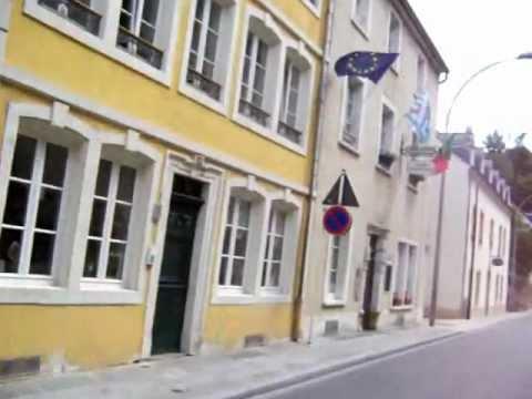 Luxembourg: Saint Ulric street (Grund)