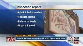 Arthur Bryant's Barbeque had 14 critical violations during June health inspection