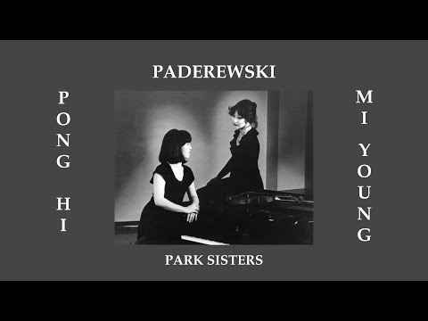 PADEREWSKI: Sonata Op. 13 for Violin and Piano--performed by the Park Sisters