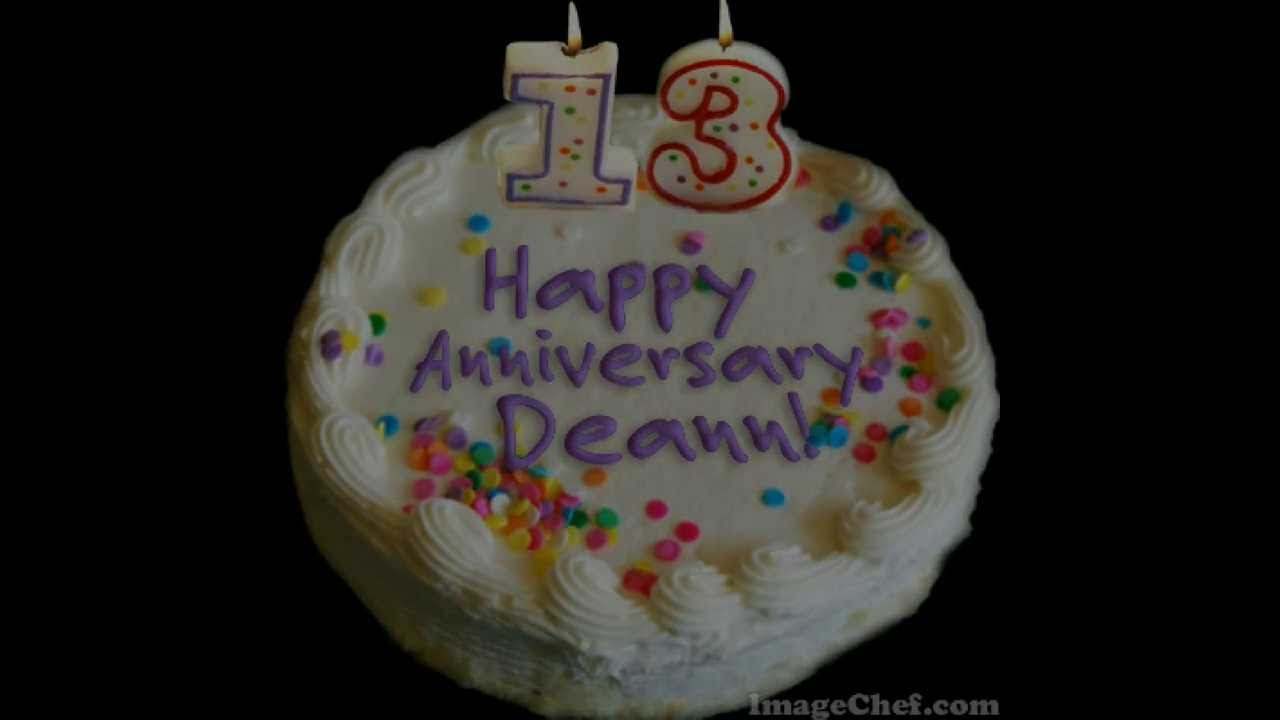 13th Wedding Anniversary Gifts For Her: 13th Wedding Anniversary Video For Deann