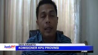 KPU Daerah Serentak Plenokan Formulir C1 Pilgub Jambi