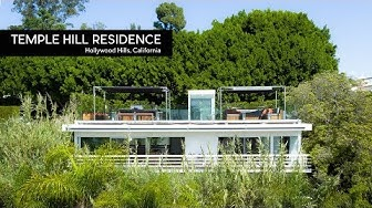 California Mid-Century Modern Architecture #132 | Temple Hill Residence | Hollywood Hills, CA