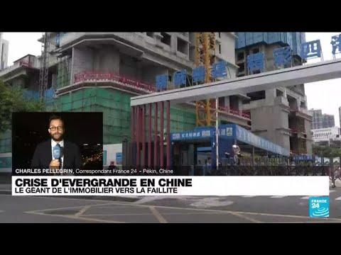 Crise d'Evergrande en Chine : le géant de l'immobilier vers la faillite • FRANCE 24