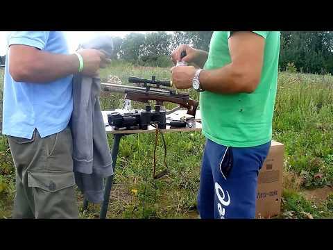 Стрельба из пневматики 500 метров. Pneumatics Shooting 500 Meters Or 546 Yards