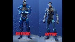 HOW TO REMOVE ARMOR FROM CARBIDE SKIN IN FORTNITE BATTLE ROYALE!