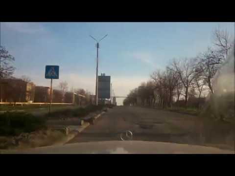 Красный Луч старый маршрут апрель 2019 * Krasny Luch City Old Route April 2019