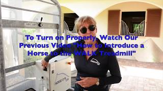 Setting Up Your New HORSE GYM USA® Treadmill