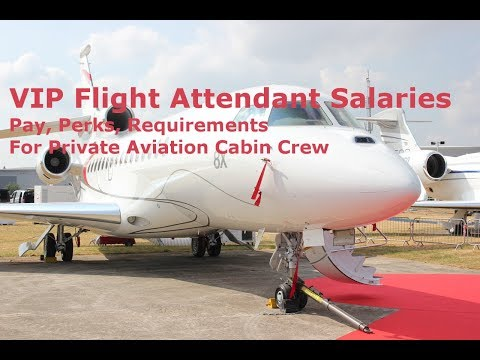 VIP Flight Attendant Salary, Cabin Crew Pay, Private Jet Stewardess
