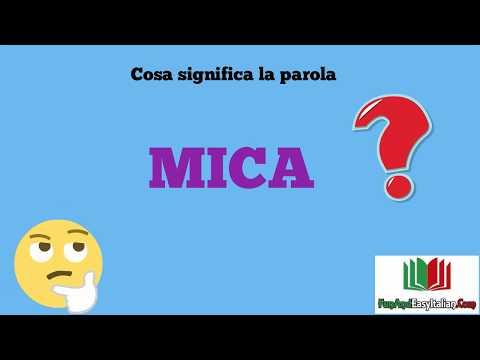 MICA: cosa significa?