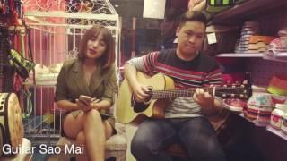 Làm người yêu em nhé ^^ Cover by guitarist Việt Cường ft Sao Mai